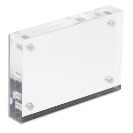 Magnetische acrylaat visitekaarthouder 30 mm