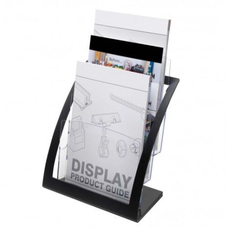 Design folderhouder 3 vaks A4