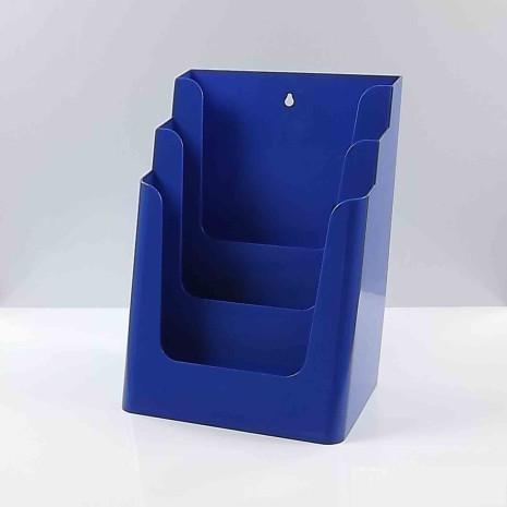 Folderhouder 3* A4 Blauw