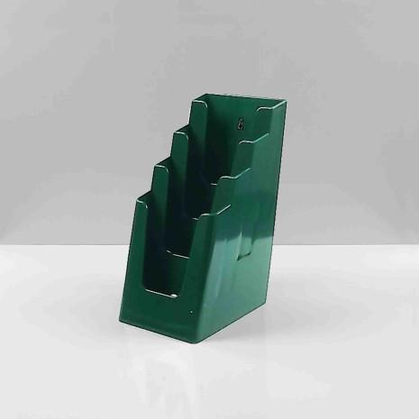 Folderhouider 4* 1/3 A4 Groen