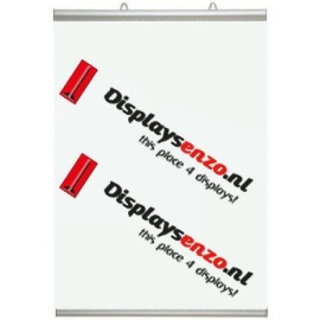 Posterklem 700 mm voorzien van Poster Displaysenzo