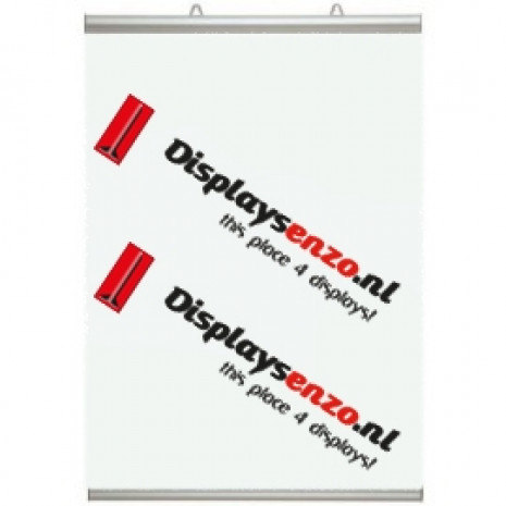 Posterklem 841 mm voorzien van Poster Displaysenzo