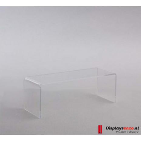 Helder acrylaat brug 250x70x50 mm
