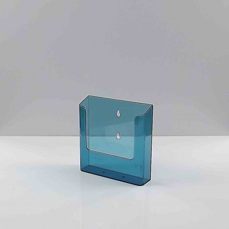 Wandfolderhouder A5 Transparant Blauw