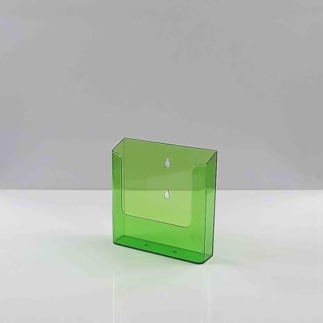 Wandfolderhouder A5 Transparant Groen