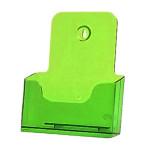 Folderhouder A5 Transparant Groen