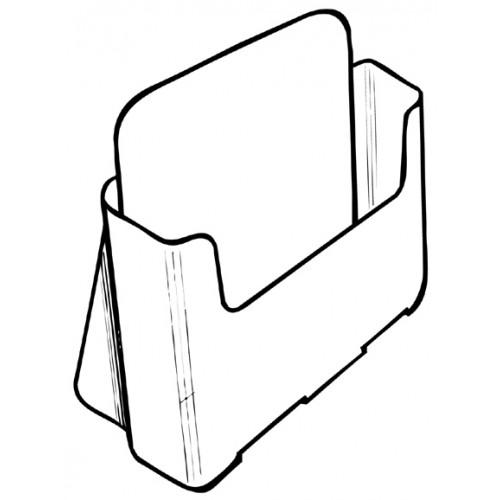 Luxe folderhouder A5 liggend
