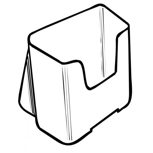 Luxe folderhouder A6 staand