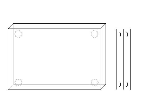 Magnetische acrylaatblokken 30 mm