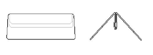 Menuclip 100 mm